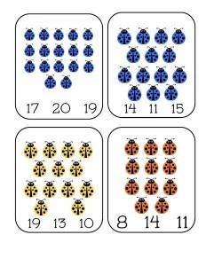uğurböceği_sayı_kartları_etkinliği