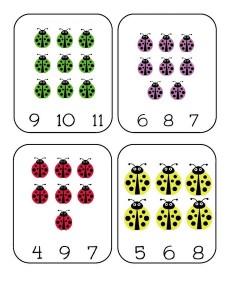 uğurböceği_sayı_kartları_sayfaları