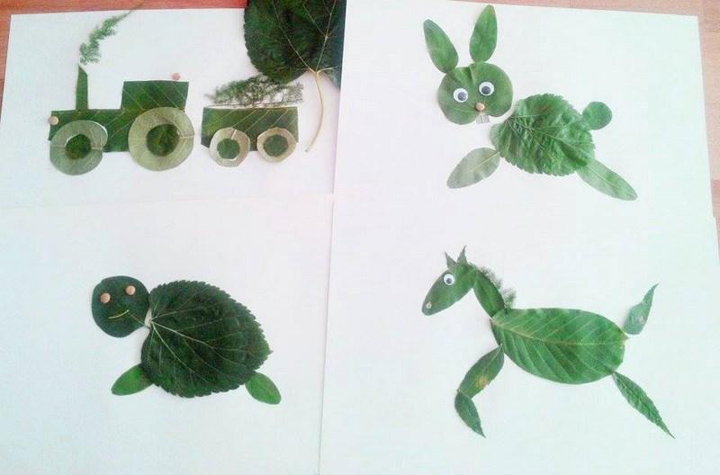 yapraklar_ile_okul_öncesi_sanat_etkinlikleri