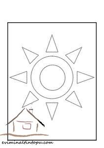 şekiller_çizgi_tamamlama_güneş