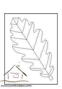 şekiller_çizgi_tamamlama_yaprak