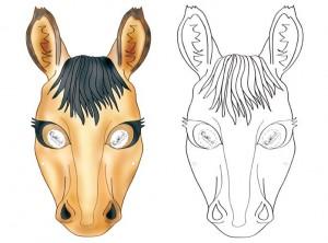 at maskesi kalıbı