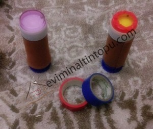baloncuk şişelerinden ses kutuları yapımı