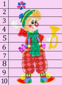 eğlenceli sayı puzzle