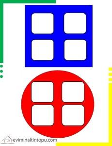 geometrik şekiller sınıflandırma çalışmaları