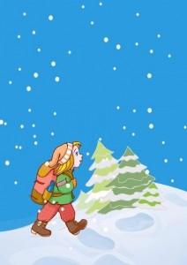 kış oyunları yürüyüş