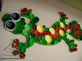 kapaklardan harika kurbağa