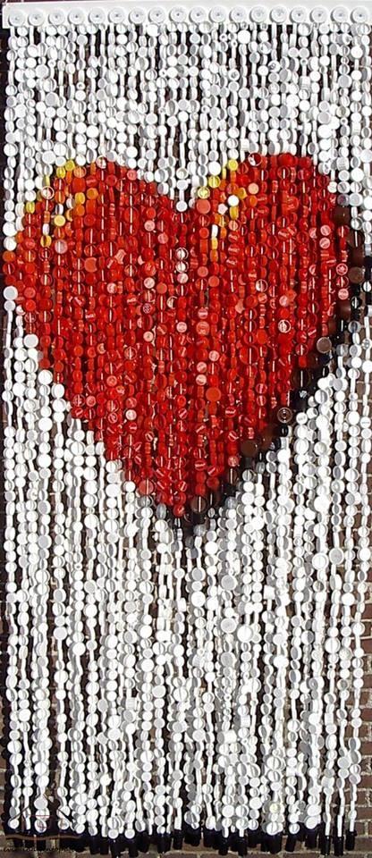 kapaklardan kalp yapımı