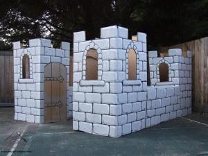 kartondan kale örnek çalışmaları
