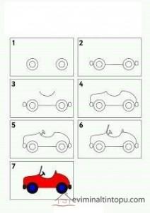 kolay araba çizimi