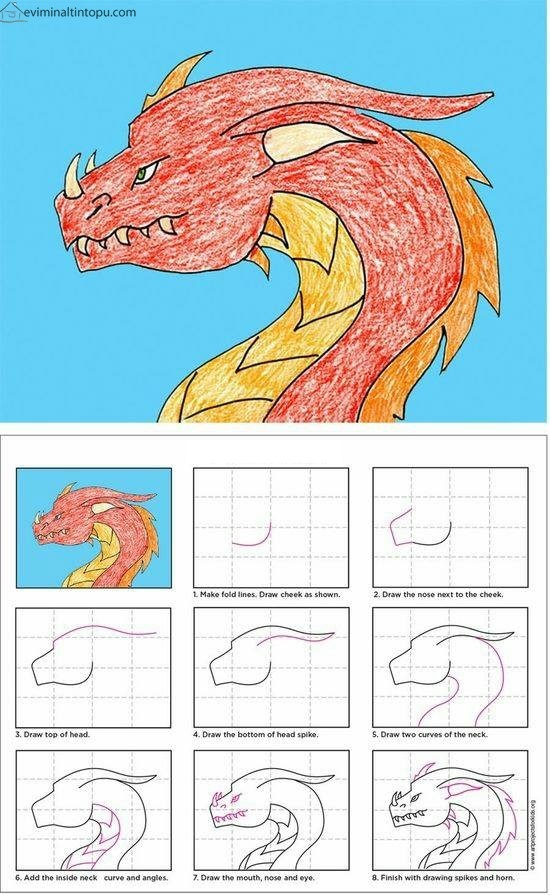 çocuklar Için Kolay çizimler Okul öncesi Kolay çizimler Evimin