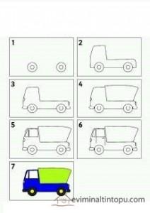 kolay kamyon çizimi