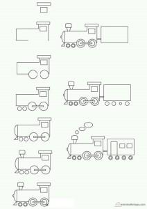 kolay lokomotif çizimi