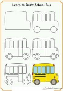 kolay taşıt çizimi