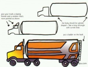 kolay taşıt çizimleri (2)