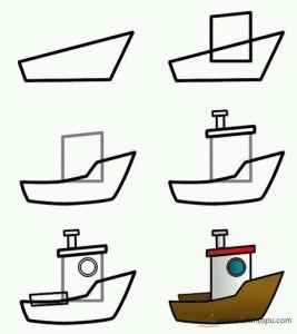 kolay tekne çizimi