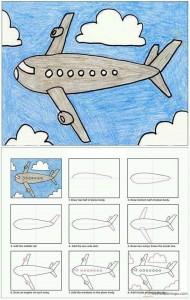 kolay uçak çizimi