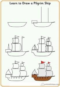 kolay yelkenli çizimi