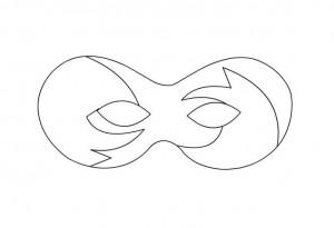 maskesi kalıbı boyama için