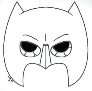maskesi kalıbı süper kahraman