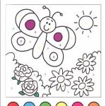 Okul öncesi Eğlenceli Sayı Boyama Sayfaları Arşivleri Evimin Altın