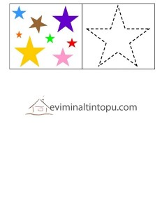 okul öncesinde geometrik şekiller sınıflandırma