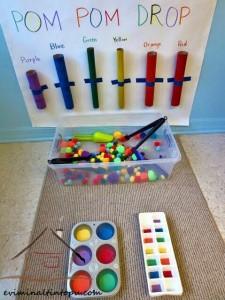 ponpondan renk etkinlikleri