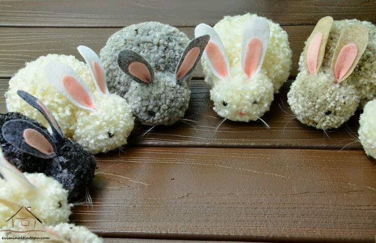 ponpondan tavşanlarımız