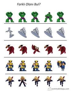 süper kahramanlar hangisi farklı