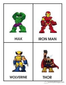 süper kahramanlar isimleri