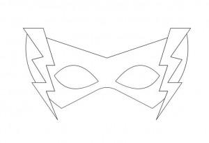 süper kahramanlar maskekalıbı
