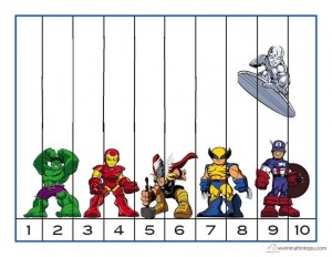 süper kahramanlar puzzle