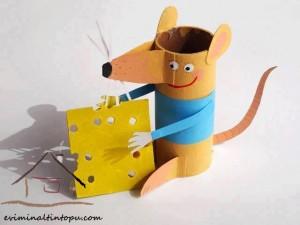 tuvalet rulosundan fare yapımı