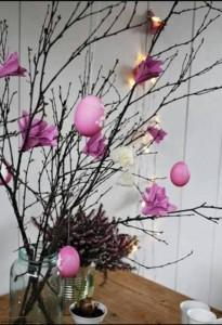 yumurta kutusundan ağaç süsleri