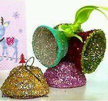 yumurta kutusundan süsler