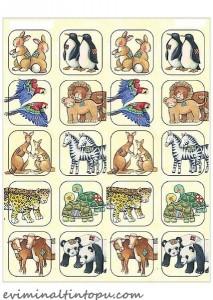 çocuklar için hafıza oyunu kartları (2)
