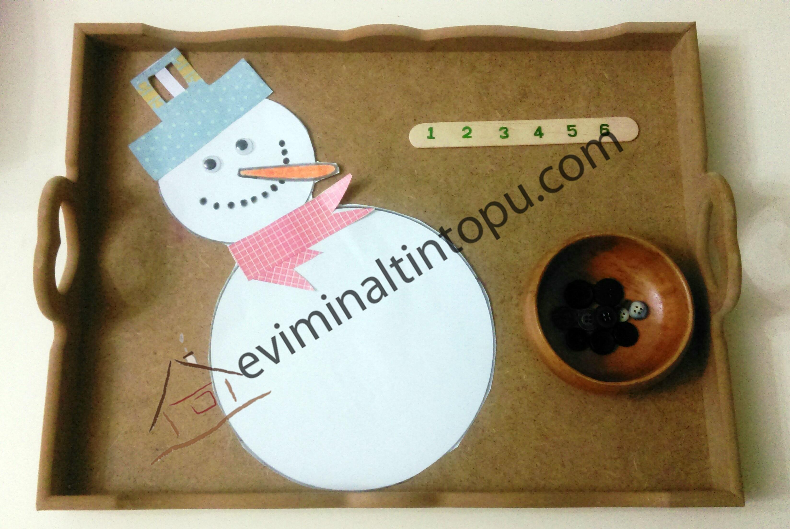 montessori kardan adam etkinliği