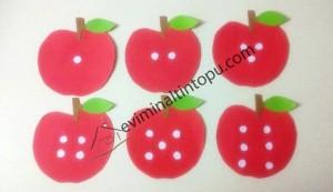 elma kurdu ile eğlenceli matematik etkinliği (2)
