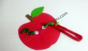 elma kurdu ile eğlenceli matematik etkinliği (6)