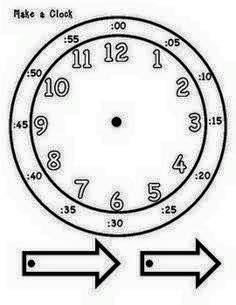 Zaman Kavrami Ve Saat Ogretimi Harika Etkinlikler