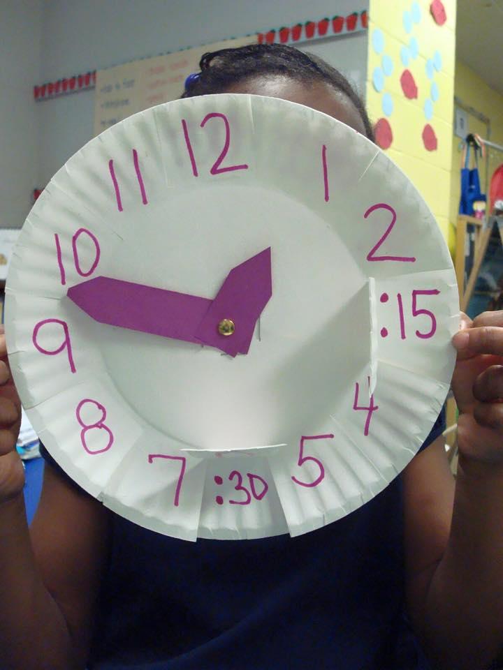 çocuklara saat öğretimi