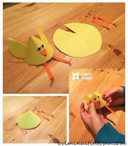 sevimli kağıt işi çalışmaları (5)