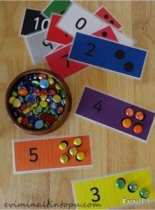 taşlarla eğlenceli matematik etkinlikleri (4)