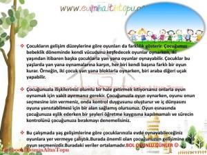çocuğun yaşamında oyunun yeri (2)