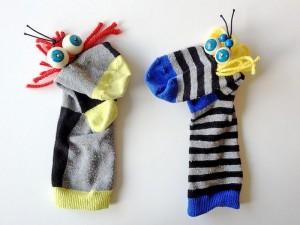 çorap ile yapılabilecek harika el kuklası örnekleri (2)
