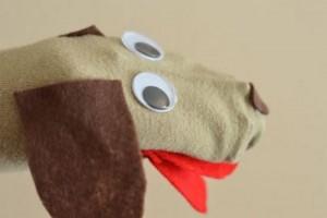 çoraptan köpek kuklası yapımı (1)