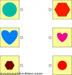 şekiller ile eşleştirme çalışması okul öncesi (5)
