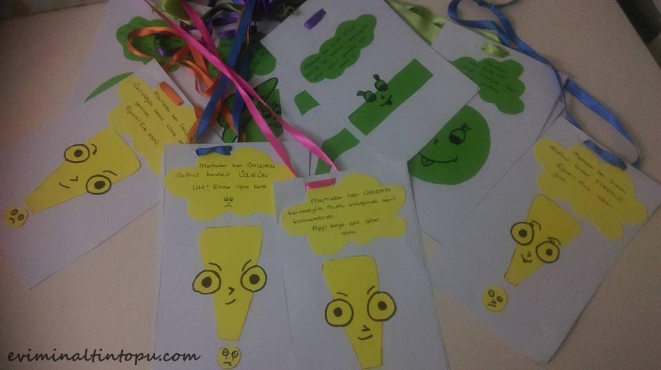 Eğlenceli Noktalama Işaretleri öğretimi Evimin Altın Topu