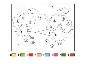 okulöncesi sayı boyama etkinlikleri (16)