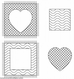 okul öncesi desen eşleme etkinlik sayfaları